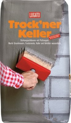 Lugato Trockner Keller Dichtungsschlämme 25 kg