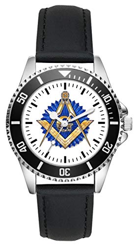 Freimaurer Wappen Geschenk Artikel Idee Fan Uhr L-1126