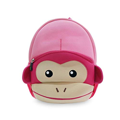 Toddler Backpack Yuan Ou Animal Children Backpacks Boys Backpack Toddler Kids Neoprene School Bags Kindergarten Cartoon Bag for Pink