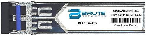 Brute Networks 2021 spring and Quantity limited summer new J9151A-BN - 10GBASE-LR 1310nm SMF Trans 10km SFP+