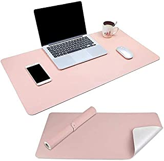 Levoit Desk Pad Large 90x40cm, Double-Sided Desk Mat, PU Leather Gaming Mouse Pad for PC Laptop, Waterproof Mouse Keyboard...