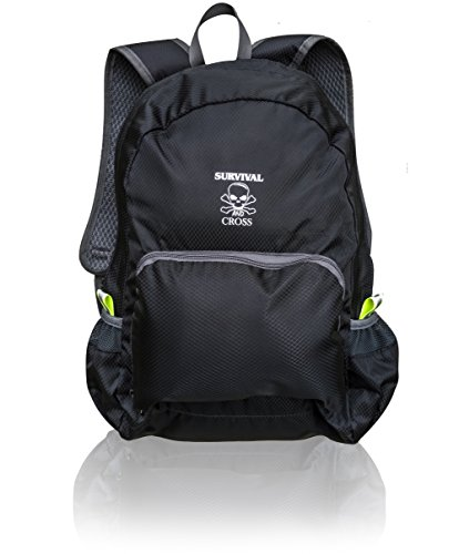 Survival and Cross Backpack Ultra Lightweight 20L Hiking Travel - Most Durable for Men and Women - Best Outdoors Camping Water Resistance Light Folding Bag