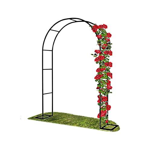 Arco Del Jardín De Flores Gardens Hoteles Terrazas Planta Que Sube Al Aire Libre Decoración De Mandriles,Metal Arco Jardín Cenador Planta Rosa Escalada Arco Decoración (Size:W240xH220cm/W94.5xH87in )