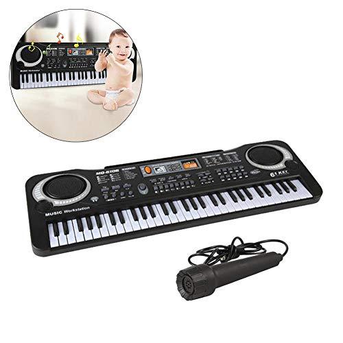 Millster Kinder Musical Instrument , 61-Tasten Elektronische Orgel Mit Mikrofon Simulierte Tastatur Musik Klavier Spielzeug Für Kinder