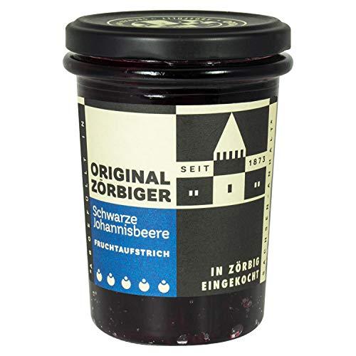 Zörbiger schwarze Johannisbeer Fruchtaufstrich Extra - DDR Kultprodukte - Ostprodukte