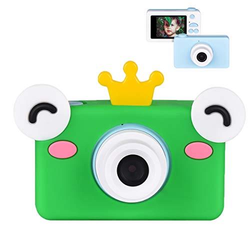 Miavogo Cámara para niños de 8 megapíxeles, pantalla de 2 pulgadas, HD 1080p,...