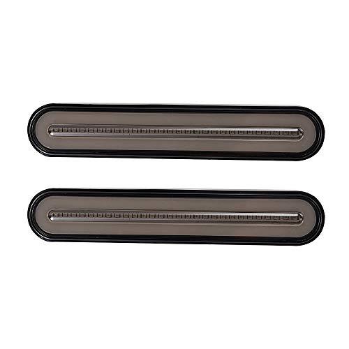 10-30 V 100 LED remolque camión Luz de freno Neón impermeable 3 en 1 Anillo de halo Cola Luz de freno Luz de señal de giro