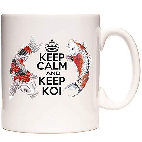 Koi Carp Becher, Keep Calm and Keep Koi Der Becher für alle, die Koi Carp halten.