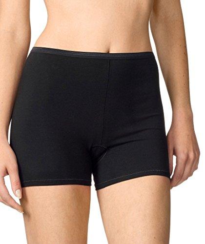 CALIDA Damen Comfort Hose kurz Panties, Schwarz, 40-42