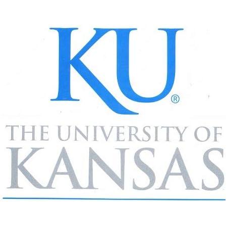 KANSAS JAYHAWK Wall Decal Logo NCAA Basketball Decor Vinyl Stiker University KJ