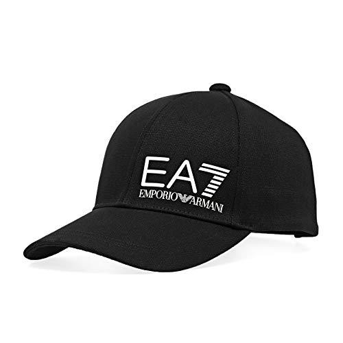 EA7 Herren Train Core Id Baseballkappen Kappe Schwarz ONE Size