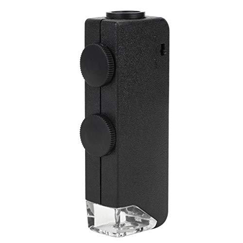 Verstelbare 60100X digitale inspectiecamera Pocket LEDmicroscoop Vergrootglas Minivergrootglas voor observatie voor kantoor voor buiten Binnen