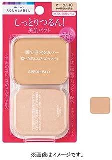 SHISEIDO AQUALABEL Moist Powder Foundation OC-20 (Refill)
