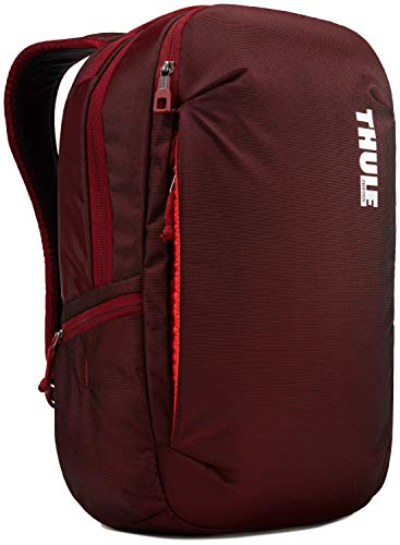 Thule TSLB315EMB Mochila para Ordenador portátil (Apple MacBook Pro de 15' o PC de 15.6'), Granate