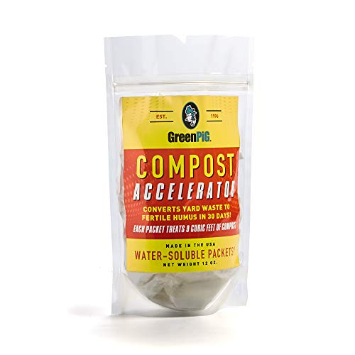 GREEN PIG 60 Accelarator Compost Accelerator, White