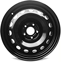 Road Ready Car Wheel For 2015-2019 Jeep Renegade 16 Inch 5 Lug Black Steel Rim Fits R16 Tire - Exact OEM Replacement - Ful...