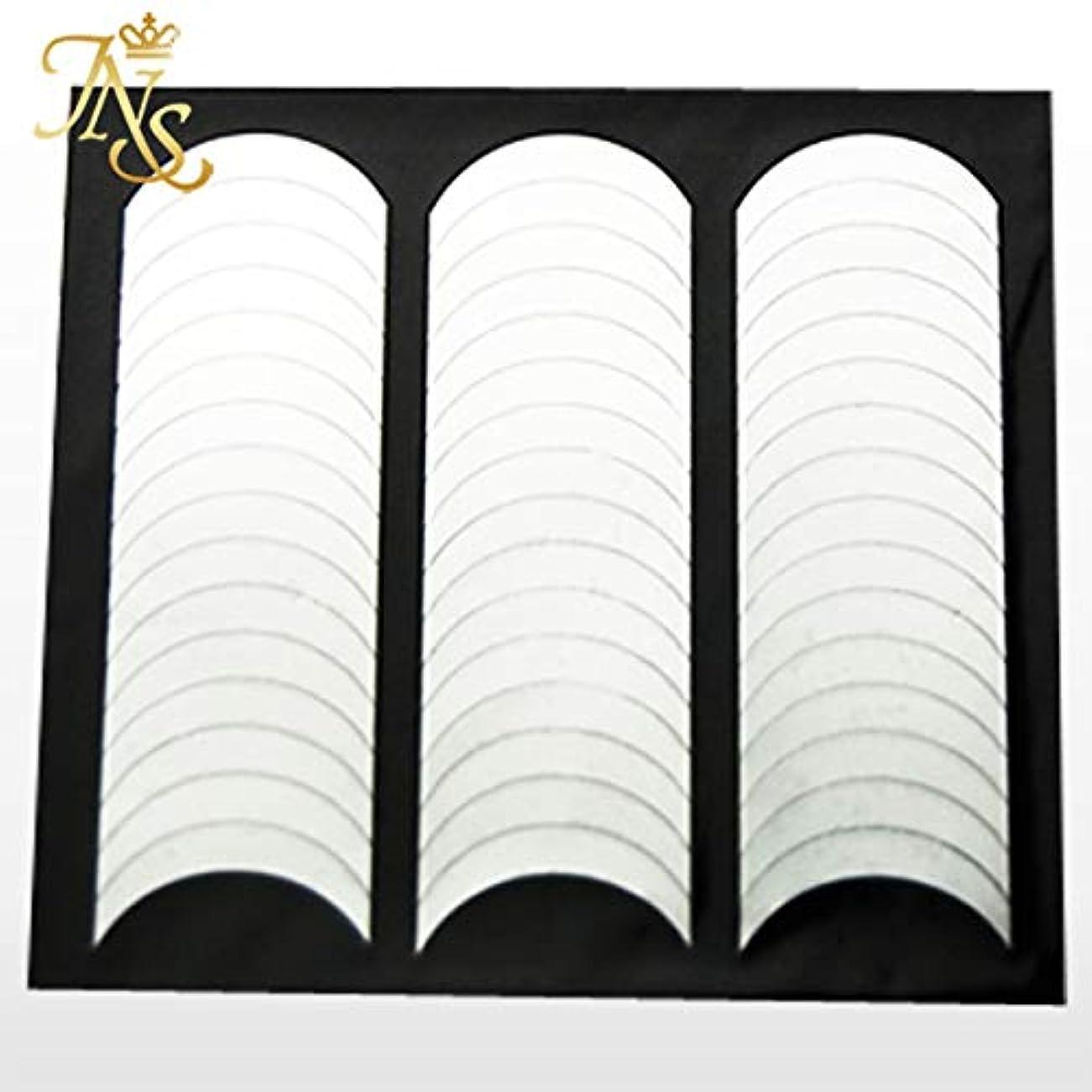 きらめくサークルシニスフレンチネイル ガイド テープ シール 144枚セット