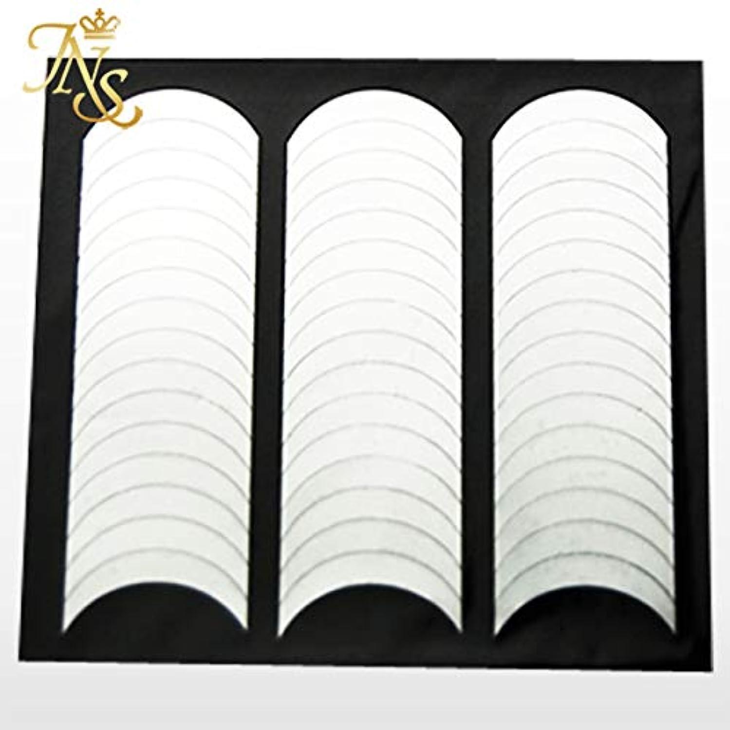手術スラッシュ有利フレンチネイル ガイド テープ シール 144枚セット