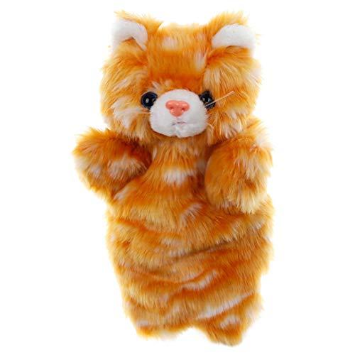 Tomaibaby Marioneta de Mano Marionetas de Animales de Peluche Gato Animal Juguetes Juguete Interactivo para Niños Niño Bebé Tiempo de Cuentos Animal Fiesta de Cumpleaños