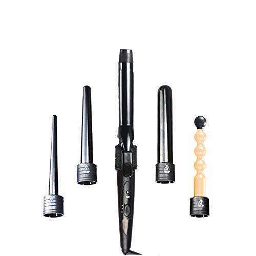 5 in 1 krultang multifunctionele Curling Iron Set instelbare temperatuur Hair Curler met 5 verwisselbare keramische coating Barrels Curling Wand