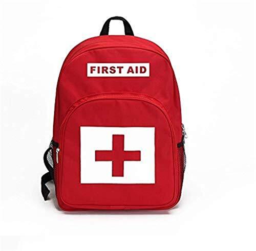 Botiquín de primeros En primer lugar Mochila auxilios, kit de vacío Bolsa de primeros auxilios médicos Paquete Kits de supervivencia Organizador Medicamentos Saco de enfermería / Médico Mochila visita