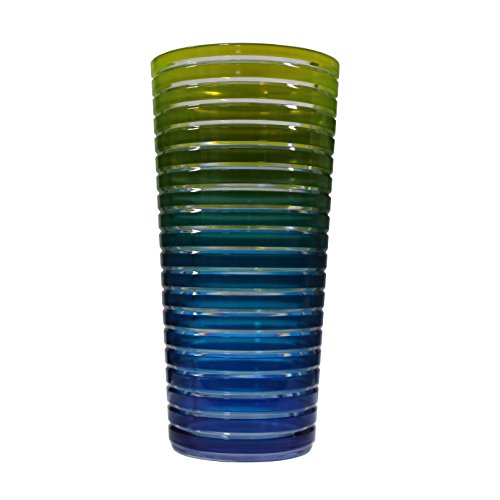 Zak Designs 6685-1401 Swirl-Verre 36cl-Rainbow Froid