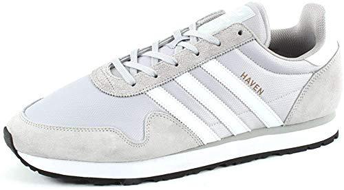 Adidas Haven, Zapatillas de Deporte Niño, Gris (Grpulg/Ftwbla/Gracla 000), 36 2/3 EU