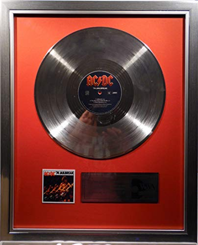 goldene Schallplatte AC/DC 74' Jailbreak Platin Schallplatte