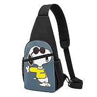ボディバッグ Snoopy スヌーピー (1) 人気 斜めがけバッグ チェストバッグ 日常 カジュアル 胸バッグ おしゃれ 軽量撥水 大容量 携帯便利 収納 登山 旅行 スポーツ 多機能 ボディバッグ 男女兼用