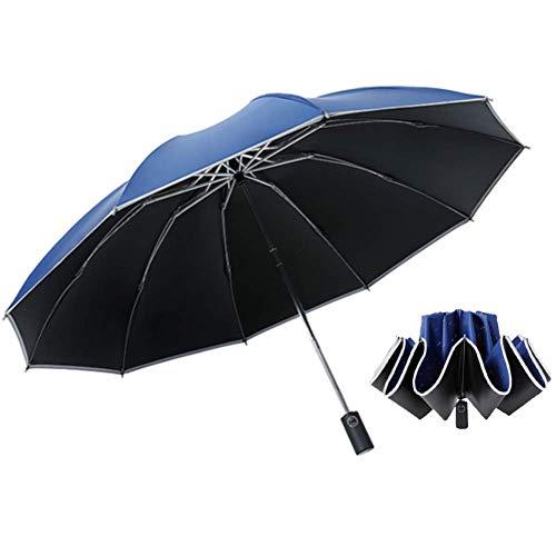 SKY TEARS Paraguas Invertido Automatico Paraguas de Viaje