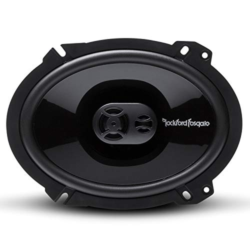 Rockford Fosgate Punch 6 x 8 Full-Range 3-Way Speakers (P1683)