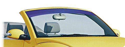 carstyling XXL Blendstreifen Ice-Blue metallisiert 10 cm x 152 cm ~ schneller Versand innerhalb 24 Stunden ~