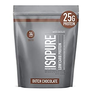 Isopure Low Carb Vitamin C and Zinc for Immune Support, Dutch Chocolate, 1 Pound (Pack of 1), 16 Oz