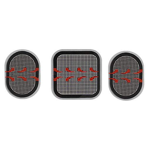 YSISLY Ersatzgelpads, 3 Stück / 9 Stück Elektrodenpads, Selbstklebende Elektroden Body Gel Pads, kompatibel mit Abs Belt (3 Stück)
