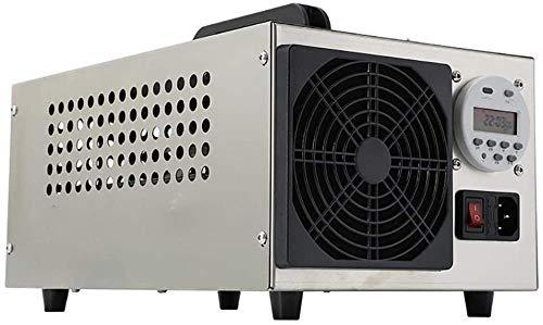 purificador de aire del ozono generador de ozono desodorizador industrial inteligente O3 purificador de aire Máquina de ozono móvil para hoteles en el hogar Coche y granjas del sótano (con chip d