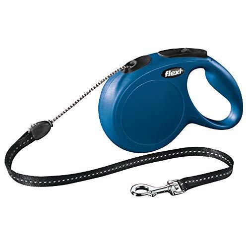 flexi New Classic S Seil 5 m blau für Hunde bis 12 kg