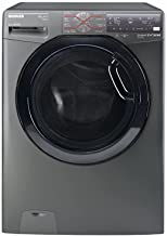 HOOVER DWFT510AHB3R-EGY Front Load Fully Automatic Washing Machine with Inverter Motor, 10 Kg - Silver
