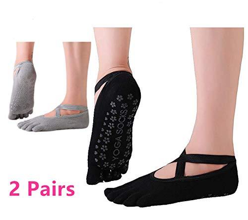 Non Slip Yoga Sokken voor Vrouwen, Anti-slip Pilates Sokken Dames Ballet Sokken UK 2.5-8