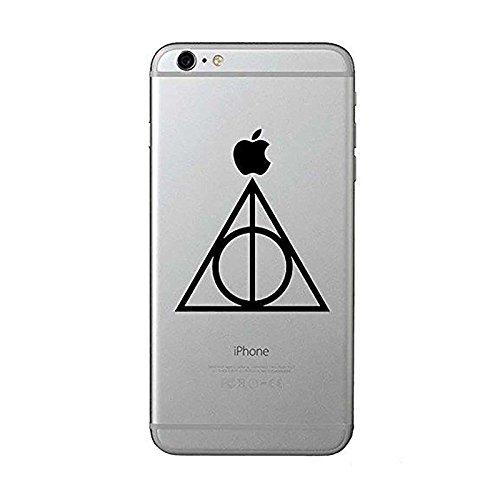 Harry Potter Deathly Hallows mobile phone adesivi (confezione da 2) mobile laptop tablet