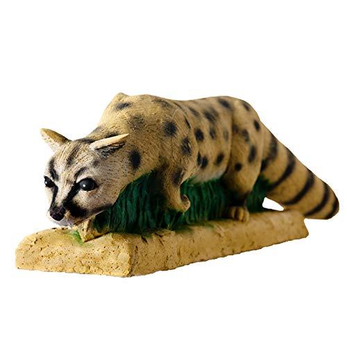 laufende Ginsterkatze 3D-Tier von Wildlife, Ziele zum Bogenschießen, Targets, Bogensport