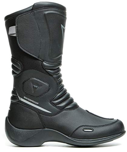 Dainese Aurora D-WP Botas de moto impermeables para mujer, color negro, talla...