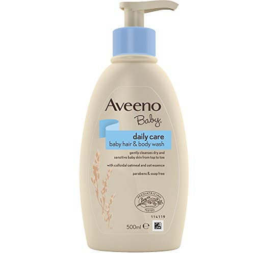 Aveeno Baby Hair & Body Wash 500ml1 Unidades