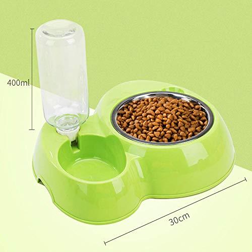 ZKBD-XTQ Nicht Kleckern Rutschfesten Silikon Tablett Matte,Hundetrinker Automatische Fütterung Wasserkocher Katze Hund Trinken Hundenapf Heimtierbedarf @ D_m