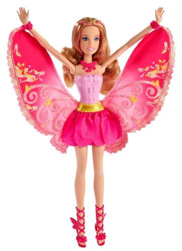 Mattel T7350 - Barbie, Die geheime Welt der Glitzerfeen, Glitzernde Fashion-Fee, blond