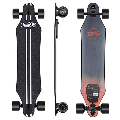 Teamgee H5 37' Electric Skateboard, 22 MPH Top Speed, 760W Dual Motor,...
