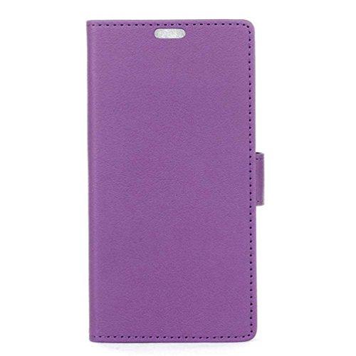 PU Leder Etui Hülle im Bookstyle Handy Tasche für Acer Liquid Z6 Plus (5.5