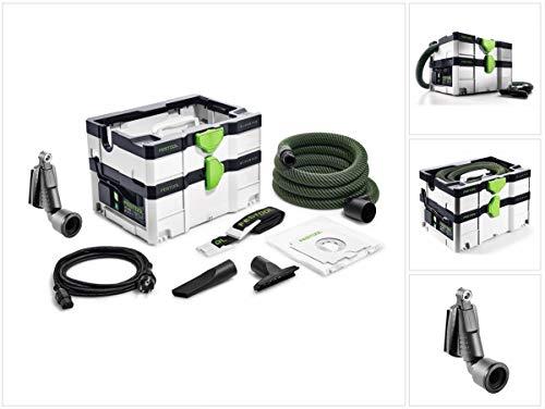 Festool CTL SYS Cleantec Absaugmobil 4,5l Staubkl. L (575279) + Tragegurt, Düsen, Saugschlauch
