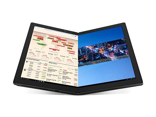 "Lenovo ThinkPad X1 Fold Gen 1 - Portátil 13.3"" QXGA (Intel Core i5-L16G7, 8GB RAM, 512GB SSD, Intel UHD Graphics, Windows 10 Pro), Negro - Teclado QWERTY Español"