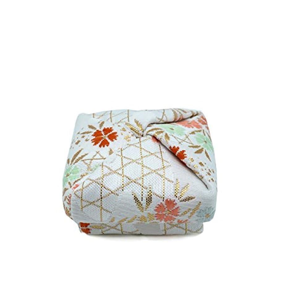 配当ペパーミント彫る布香合‐角‐ 紙箱入 撫子