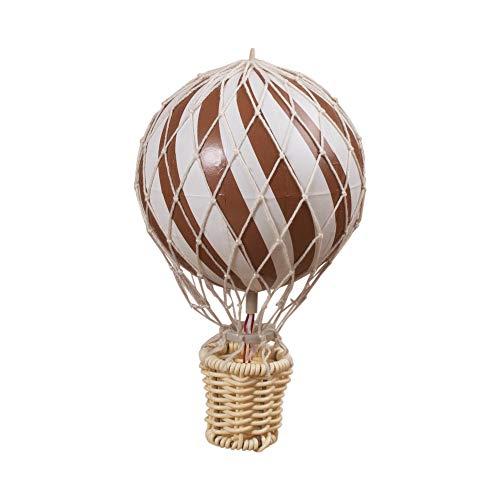 Filibabba® Heißluftballon Deko Klein | 10 cm | Dänisches Design | Babyzimmer Deko und Kinderzimmer Deko (Rust)